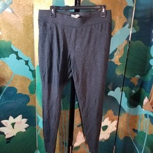 Thick cotton Ponte pants